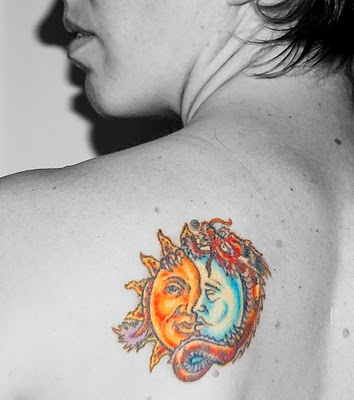 Sun and moon: Indian Tattoos, Old School Tattoos, Amazing Sun, Old Schools Tattoo, Celestial Tattoo, Tattoo'S, Sun Tattoos, Tattoo Celestial, Tattoo Sun