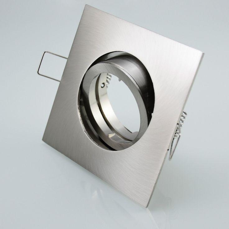 Simple Details zu Einbaustrahler Einbauspot Spot Einbaurahmen Strahler Lampe Edelstahl