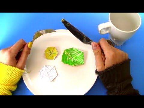 Hexaflexagons by Vihart: The ever amazing Vihart! This video is based on a true story. Arthur H. Stone really did invent the hexaflexagon after playing with the paper strips he'd cut off his too-wide British paper, and really did start a flexagon committee! #Hexaflexagons #Math #Vihart