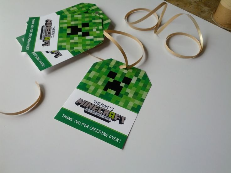 25 best ideas about Minecraft invitations – Mine Craft Invitation Template