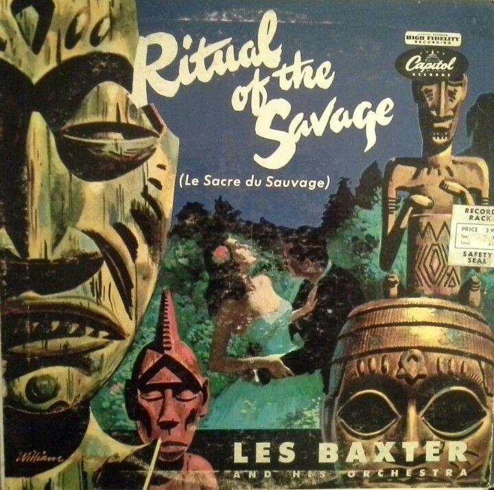 Savage Tiki art, Album cover art, Cover art