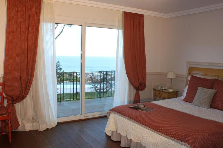 habitacion tonos pastel, vintage, romantica, elegante www.hotelblaumarllafranc.com