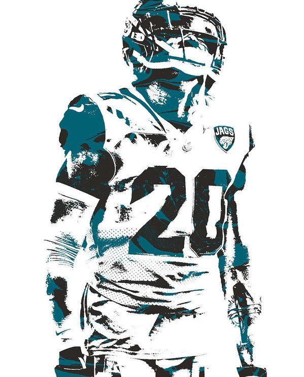 Jalen Ramsey Jacksonville Jaguars Poster FREE US SHIPPING