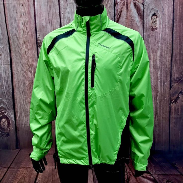 Muddy Fox Mountain Bike Jacket size medium new never worn lime green biking
