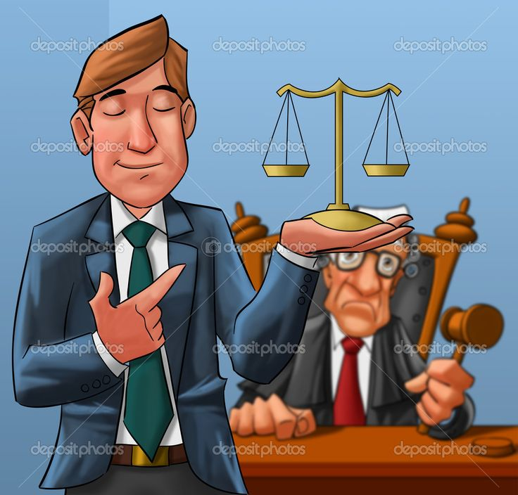Lawyer and judge — Stock Photo © davisales #5813721