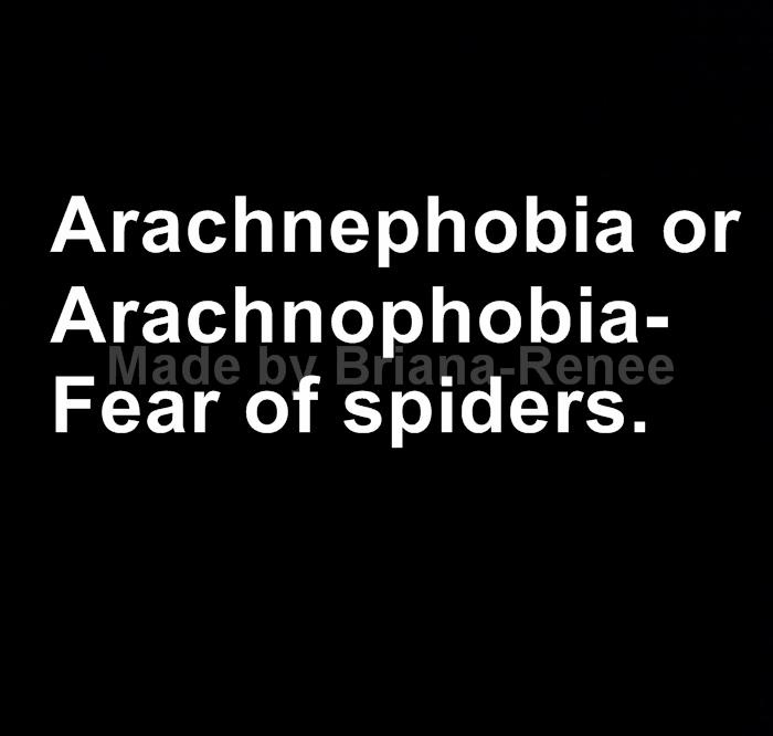 arachnophobia fear of spiders Arachnophobia is a debilitating fear of spiders and other multi-legged creatures, including scorpions while some believe that the phobia is basic human instinct, other experts claim that it is.