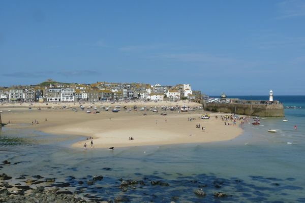 St Ives harbour  #Cornwall