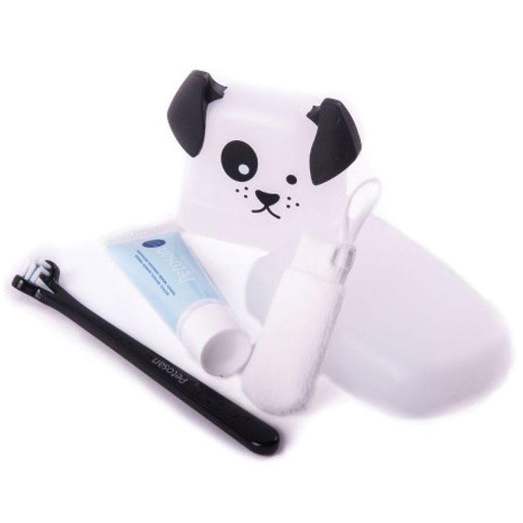 PETOSAN ΣΕΤ ΣΥΣΚΕΥΣ.ΟΔΟΝΤΟΒΟΥΡΤΣΑ-ΟΔΟΝΤΟΠΑΣΤΑ ΜΙΝΙ # pet #dog #dental #petosan