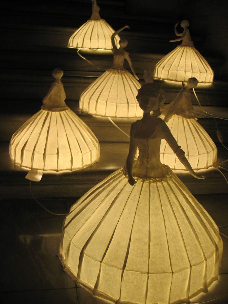 Sculptures Lumineuses - Papier à Etres - Opéra Garnier
