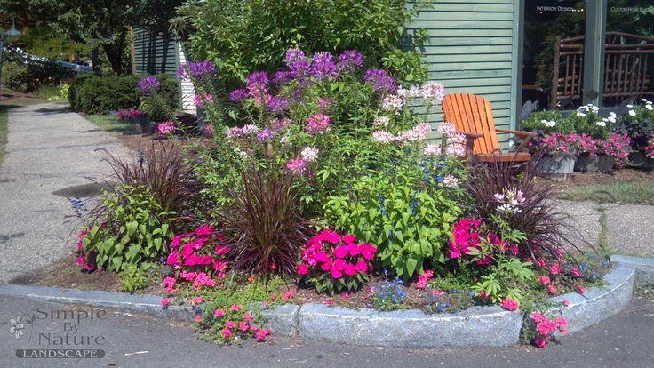 30 best images about flower garden design ideas on for Perennial flower garden designs
