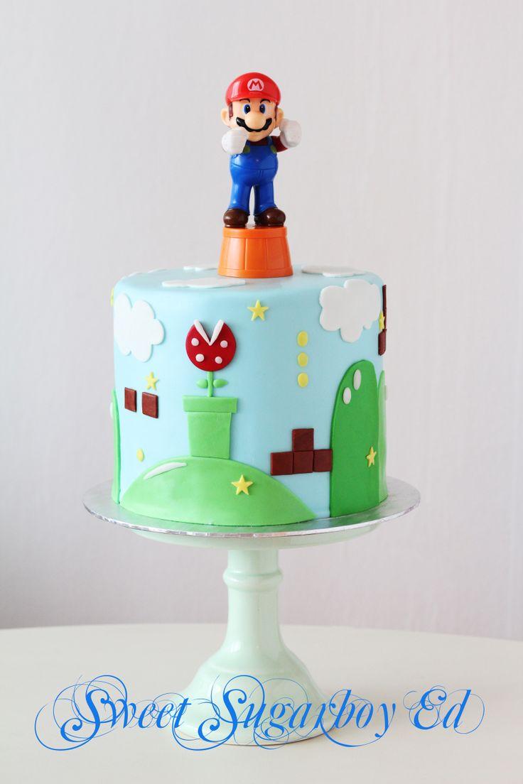 Super Mario Birthday Cake 7 March 2014
