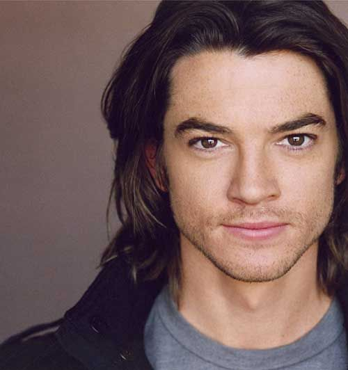 Famous Men with Dark Long Hair