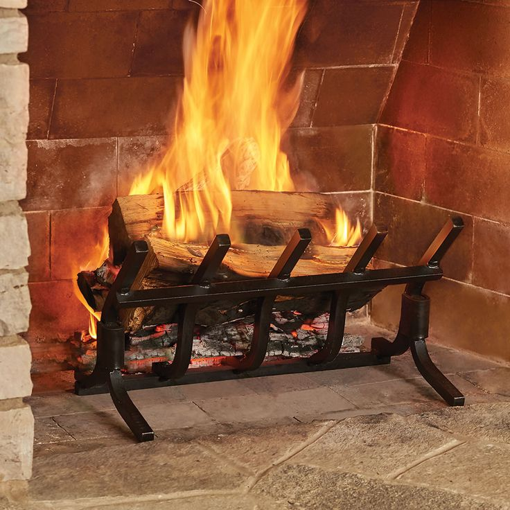 The Most Efficient Fireplace Grate, What Is The Best Material For A Fireplace Grate