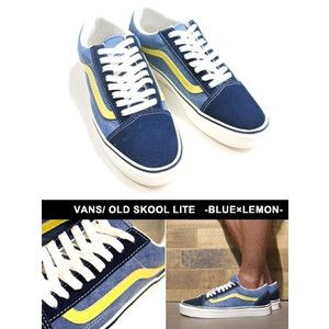 VANS ULTRACUSH OLD SKOOL OLD SKOOL LITE -BLUELEMON- _SALE [ecoandstyle_16BG-VN000406IUH] - $39.99 : Vans Shop, Vans Shop in California