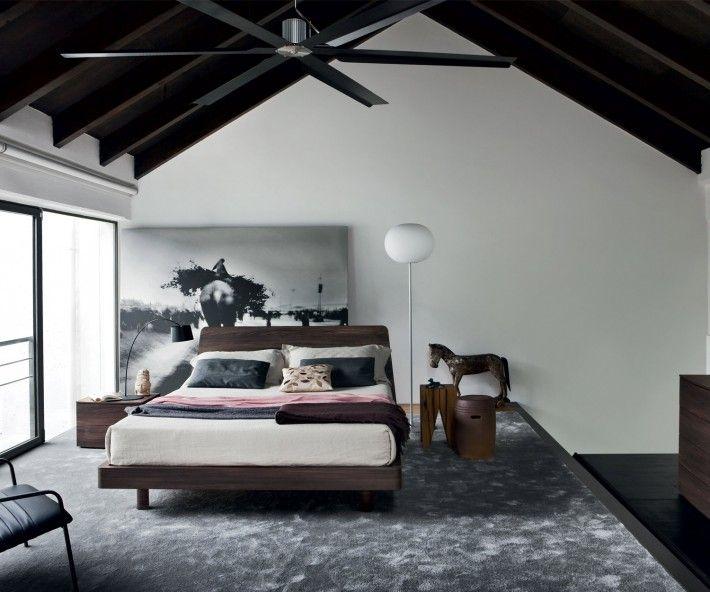 Die besten 25+ großes Kopfteil für Bett Ideen auf Pinterest - attraktive nachttische moderne schlafzimmer