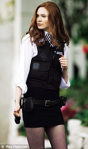 Amy Pond (played by Karen Gillan) [hint hint... my halloween costume]