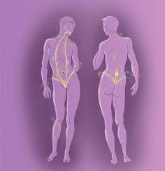 На карте тела: Зарядка для избавления от проблем.. Карта тела: Как на уровне тела поменять жизнь