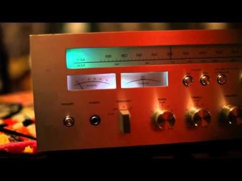 Vintage AKAI AA-1030 LED Lightshow Modification Demonstration - YouTube