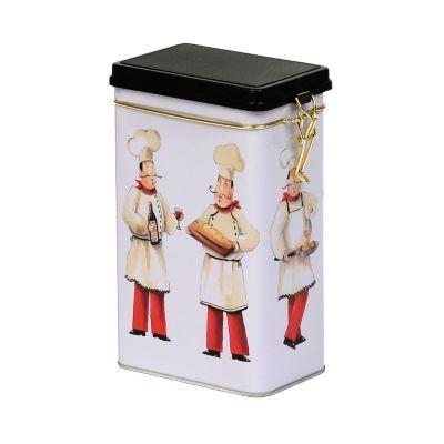 $4.99  Busy Chefs Storage Tin | Kirklands--GREEN TEA BAGS