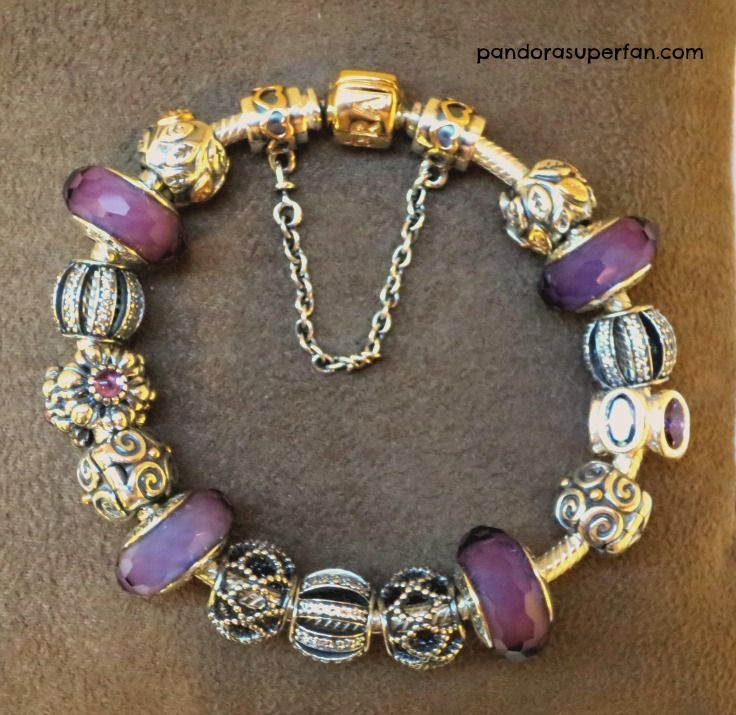 Purple Pandora Bracelet Styled By Kathy At Pandora