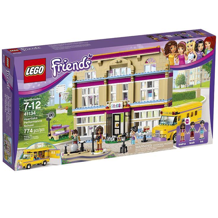 **** Rends-toi à l'école du spectacle de Heartlake City LEGO Friends dans l'autobus…