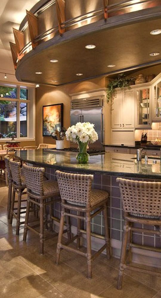 Large Kitchen Island Designs And Plans: 25+ Best Ideas About Large Kitchen Design On Pinterest