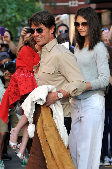 Tom Cruise wearing an IWC - a fan of the vintage watch!
