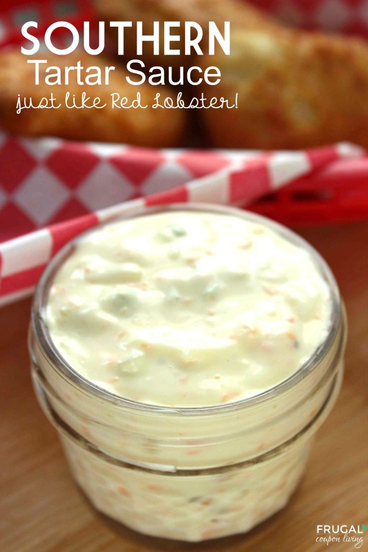 We love this southen tartar sauce, an easy to make condiment recipe to save you money - it tastes just like Red Lobster!