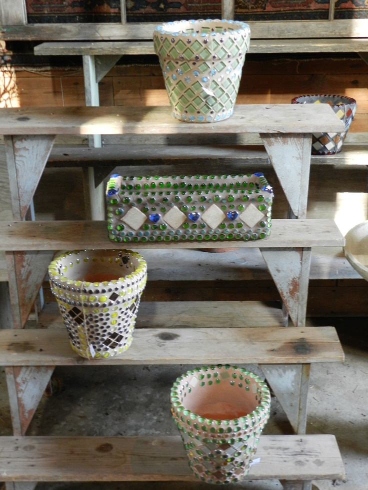 Containers By Jayne Klinger For Sale At Northwind Perennial Farm In Burlington Wi