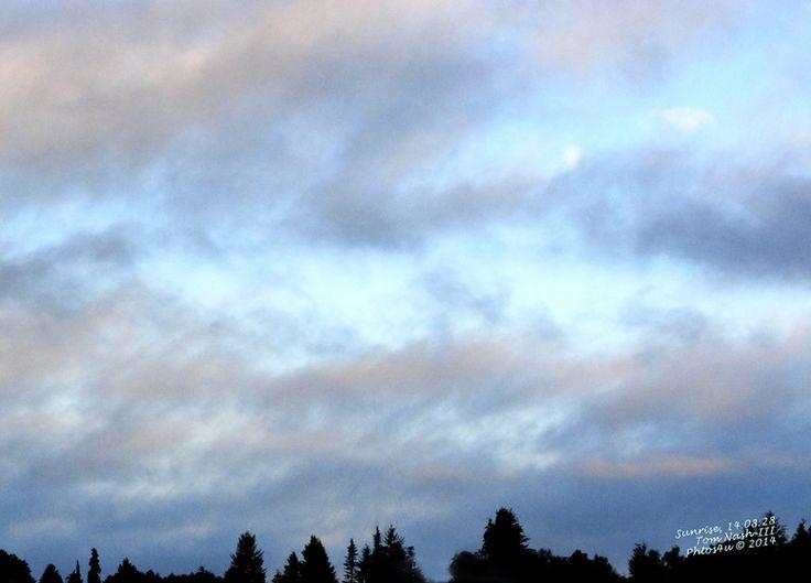 Sunrise, 14.08.28 by TomNash : Weather Underground.  Everett, WA