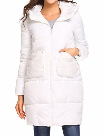 Soteer Women's Thickened Down Jacket Warm Anorak Winter Long Quilted Coat Review