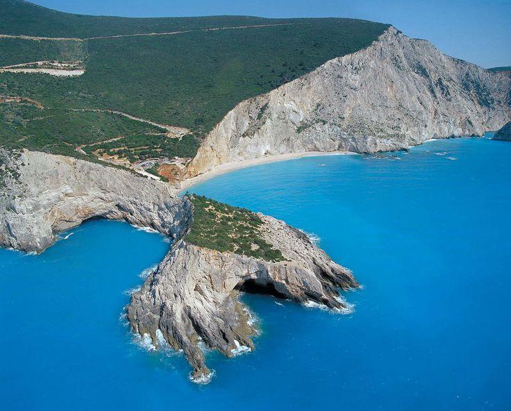 Léucade, isla griegas