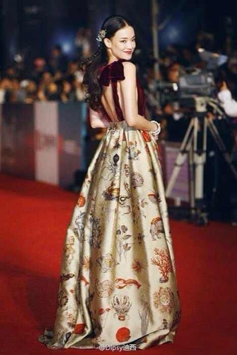 SHU QI in Valentino Couture