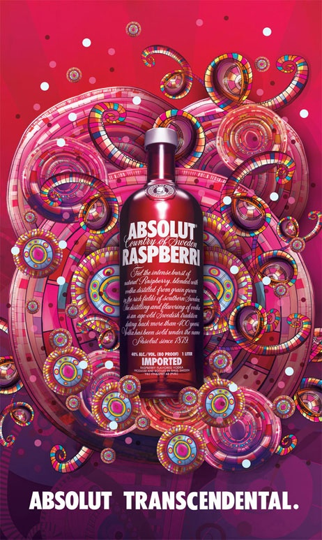 Illustration developed for ABSOLUT Vodka   (non-commercial work)