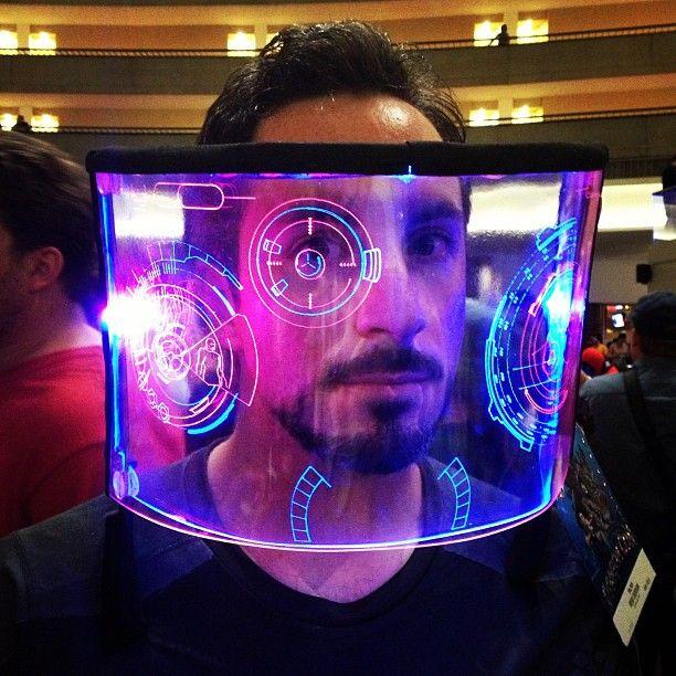 Tony Stark J.A.R.V.I.S. View more EPIC cosplay at http://pinterest.com/SuburbanFandom/cosplay/...