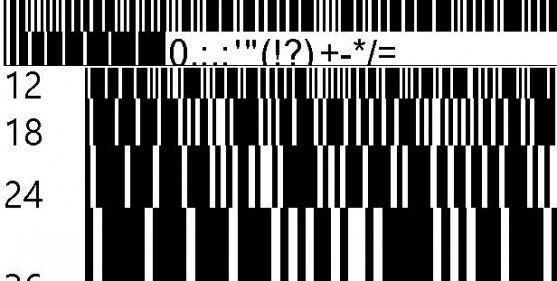 Font Barcode Free Download - Barkode Regular (TrueType)