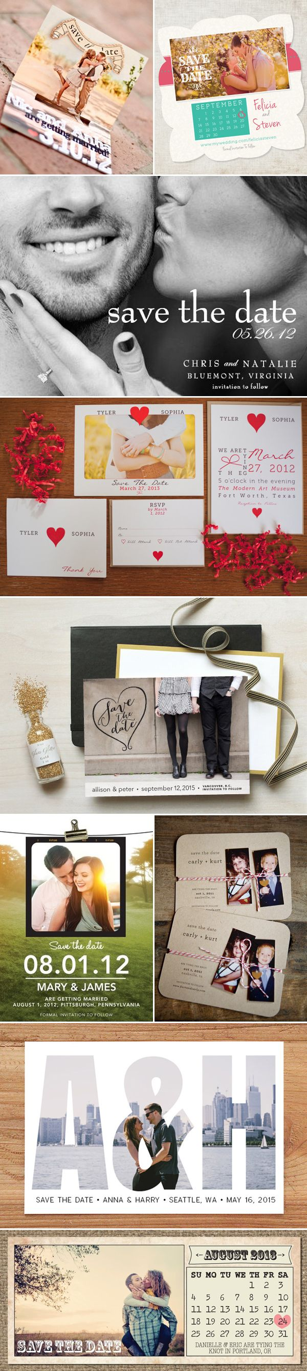 If you are blissfully engaged and ready to share the news of your impending wedding, sending a personalized save-the-date photo card is one of the cutest ways to make the announcement! Save-the-date cards allow you to give your guests enough time to plan and schedule their time to make it to your wedding. It's a …