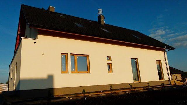 Widok tyłu domu  #dom #projekt #budowa