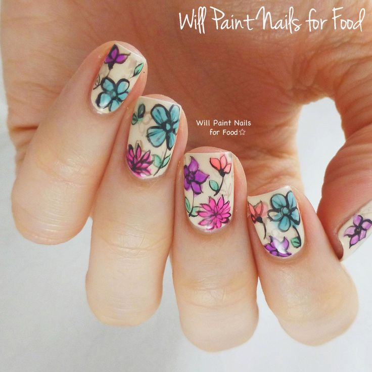 The Neverending Pile Challenge: Day 5, Jelly: Sunsational Spring Flowersby Will Paint Nails for Food