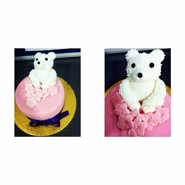 Teddy bear fruit cake!