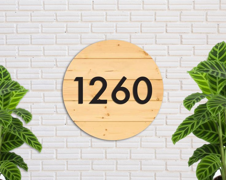 HOUSE NUMBERS MODERN, Outdoor House Sign, Custom House Numbers, House Numbers, Modern House Numbers, House Number Sign, house number Plaque by wearewoodlab on Etsy https://www.etsy.com/listing/539581023/house-numbers-modern-outdoor-house-sign