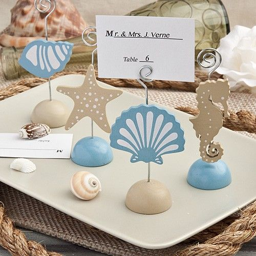 Marque place coquillage Magical Sea Themed Place Card Holders