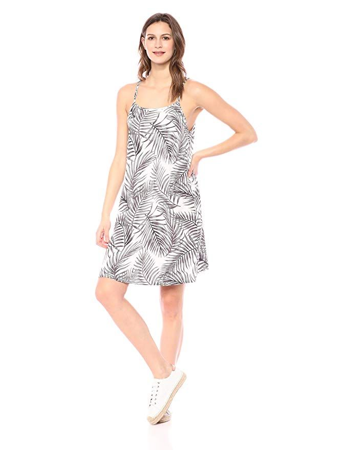 28 Palms Womens Tropical Hawaiian Print Shift Dress Brand