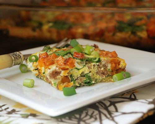 Multiply Delicious- The Food   Breakfast Casserole