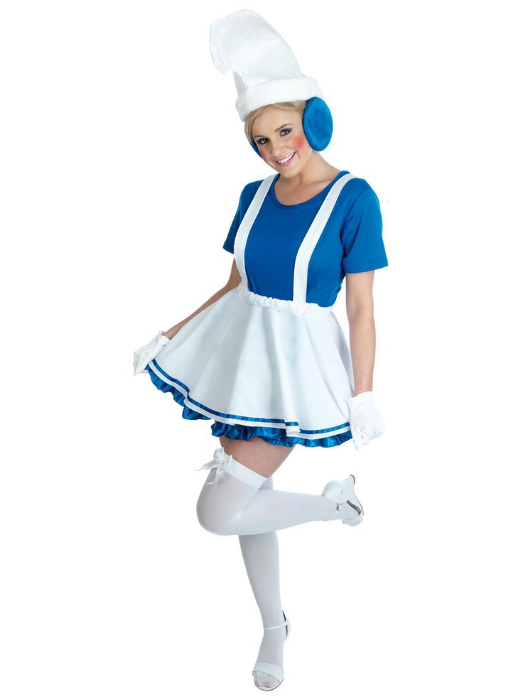 Smurf Costumes, Smurfette Costumes, Smurf Outfits, Smurf Fancy ...