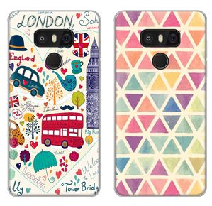 nice Cartoon Pattern case for LG G6 colorful Soft Silicone TPU New arrival back cover Protective shell phone bag housing