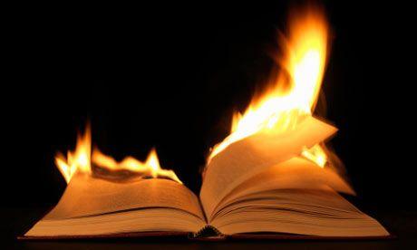 burning my pre-cal book