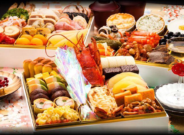 おせち料理.com: 博多久松 洋風定番3段重おせち料理『Akasaka』 ≪おせち全40品≫ 特大おせち
