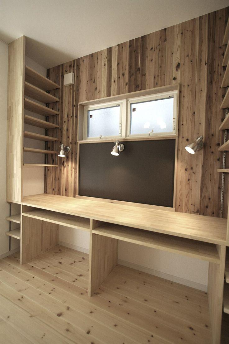 造作家具・スタディカウンター/ジャストの家
