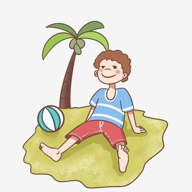 Boy Playing By The Beach In Summer Summer Beach Ball Png Transparent Clipart Image And Psd File For Free Download Beach Drawing Beach Cartoon Boy Illustration